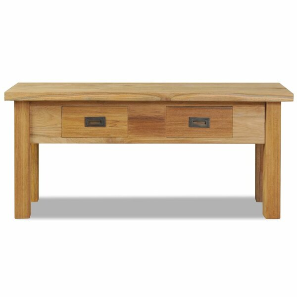 Wood Storage Bench by Millwood Pines