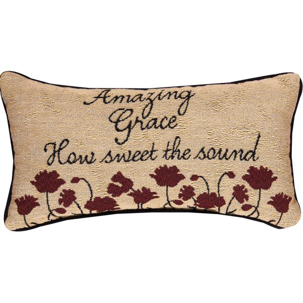 Amazing Grace Lumbar Pillow by Manual Woodworkers & Weavers