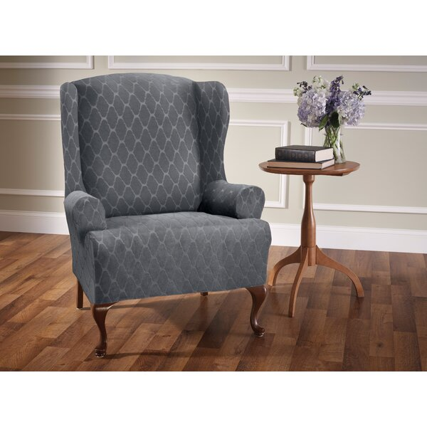 T-Cushion Wingback Slipcover by Winston Porter