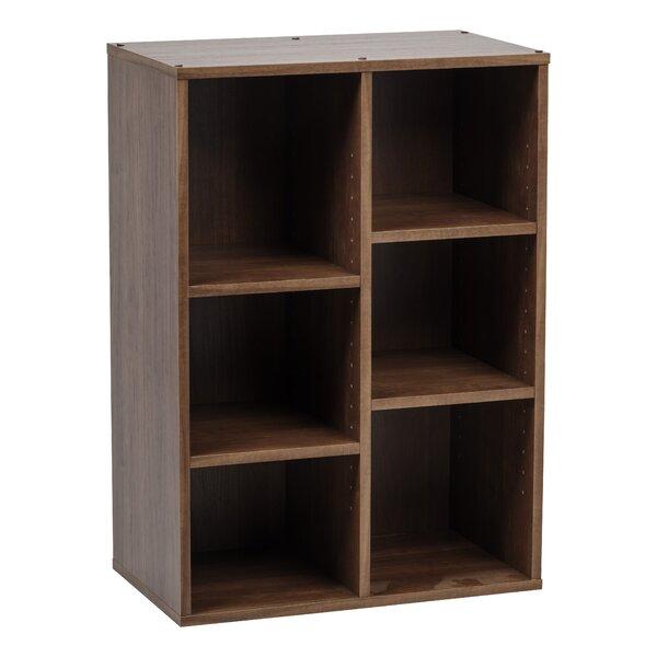Collan 6 Cube Wood Standard Bookcase by IRIS USA, Inc.