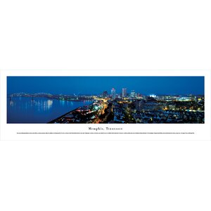 Memphis, Tennessee by James Blakeway Photographic Print by Blakeway Worldwide Panoramas, Inc