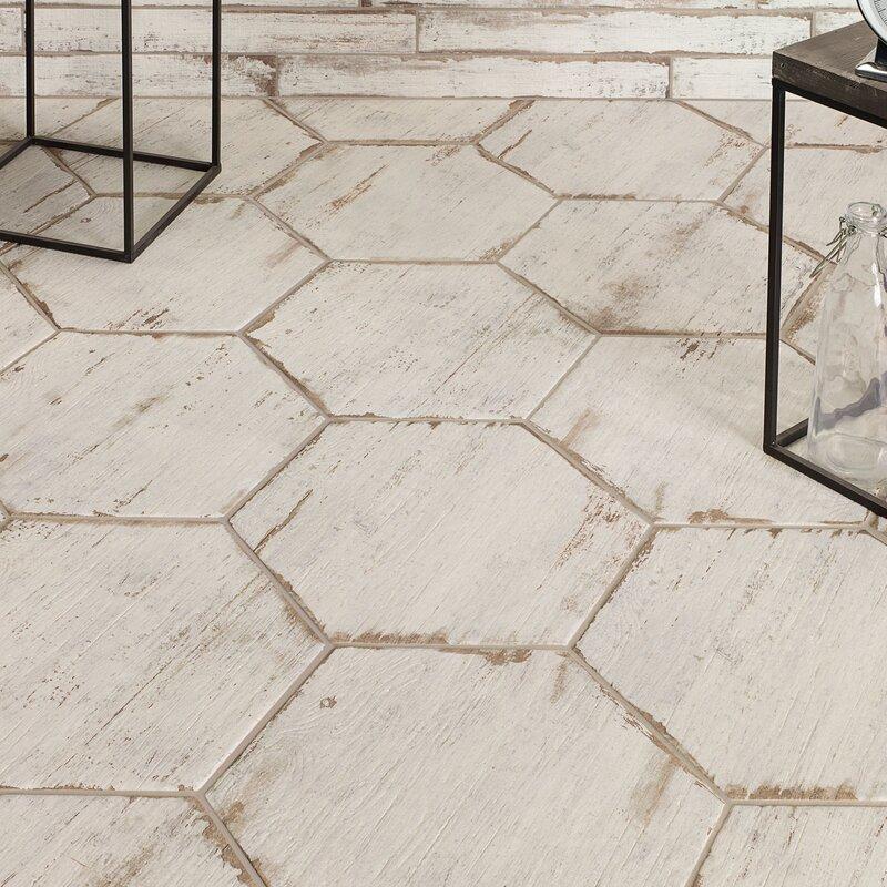 Rama 14 X 16 Porcelain Wood Look Tile