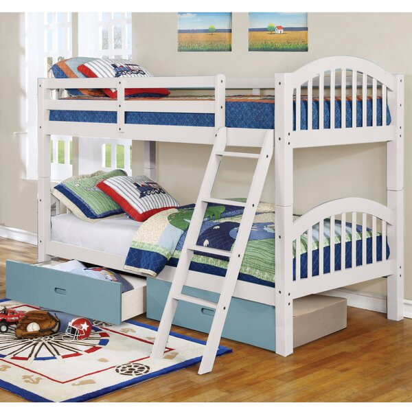 Dibble Twin over Twin Bunk Bed with Drawers by Harriet Bee