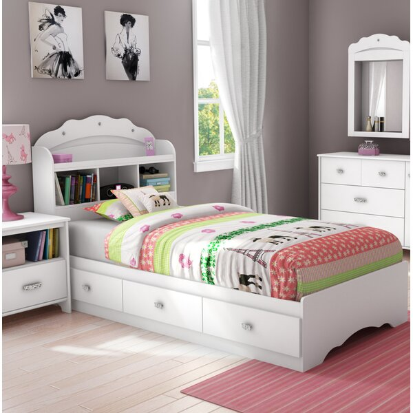 Tiara Twin Mate's & Captain's Bed With Drawers By South Shore Best