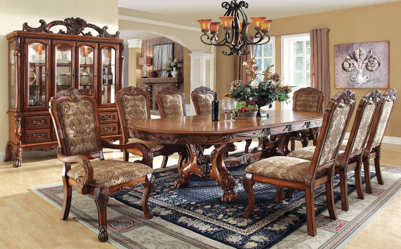 Hokku designs evangeline 9 piece dining set reviews for Kitchen queen set