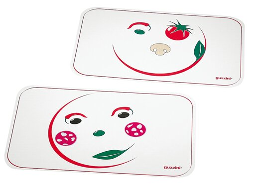 Art & Pizza 2 Piece Placemat (Set of 2) by Guzzini