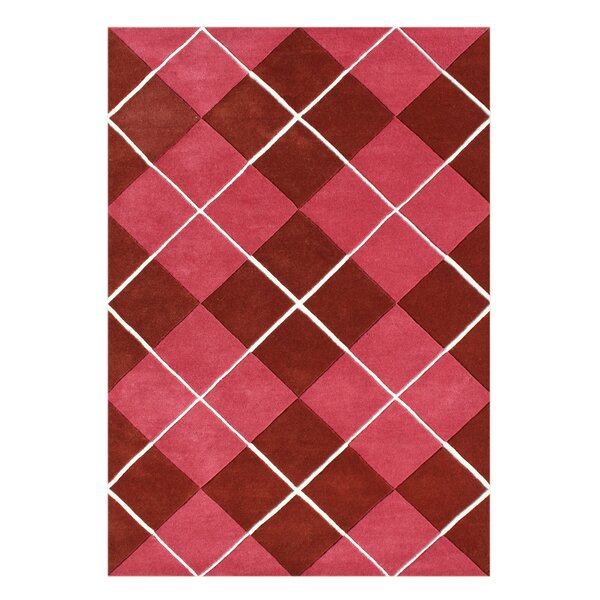 Alliyah Handmade Pompeian Red Area Rug by Bridget Moynahan: Curator for a cause
