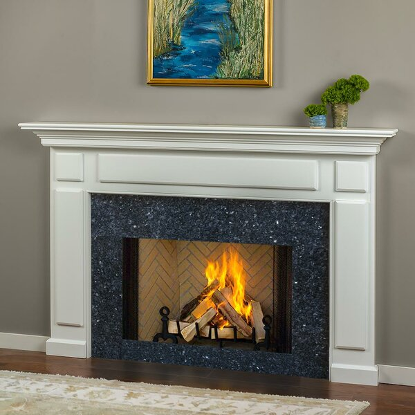 Grant Surround Wood Fireplace Surround By Mantels Direct