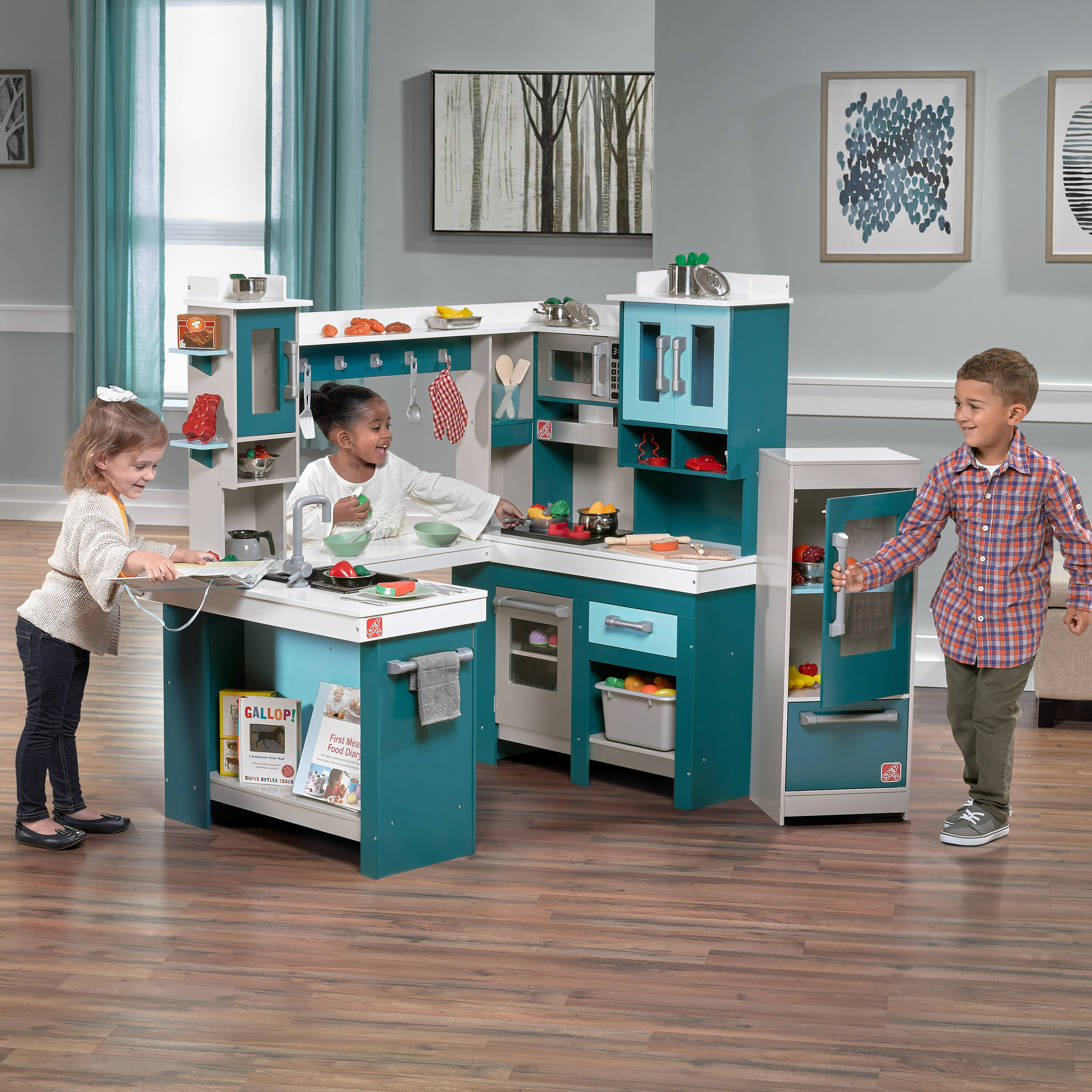 Step2 Grand Walk Kitchen Set & Reviews | Wayfair