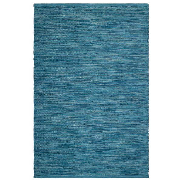 Markowski Hand-Woven Blue Indoor/Outdoor Area Rug by Gracie Oaks