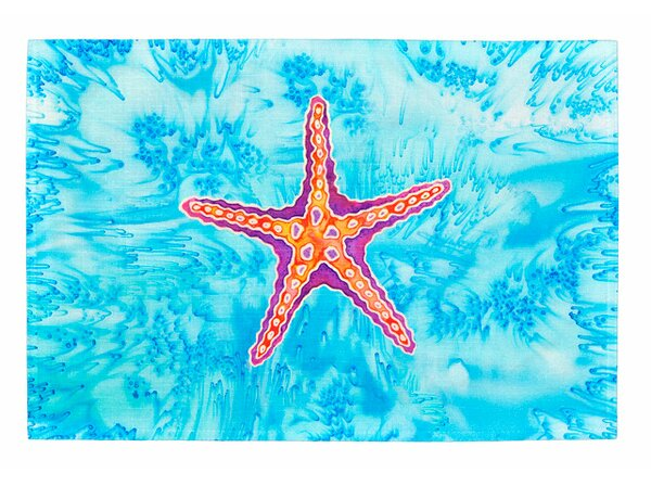 Starfish Placemat (Set of 2) by Live Free