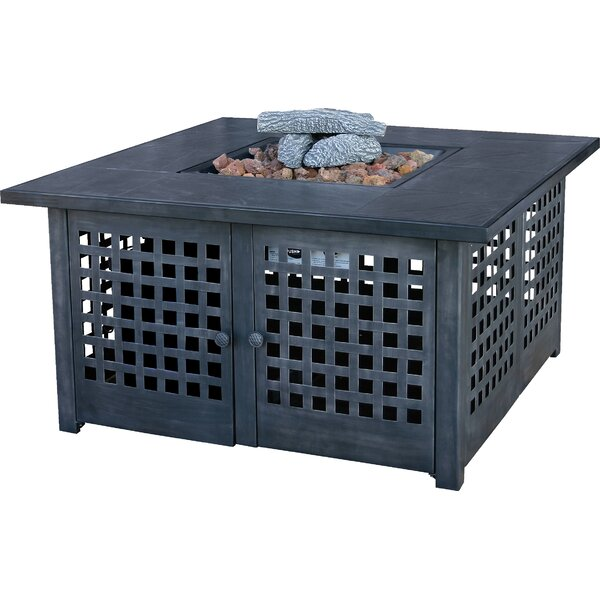 UniFlame Metal Propane Fire Pit Table by Uniflame Corporation