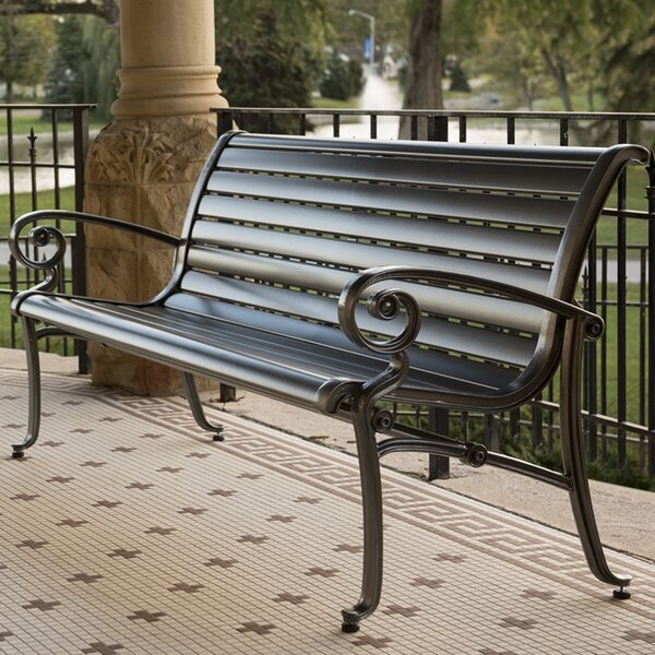 Ashley Iron Park Bench by Wabash Valley Wabash Valley