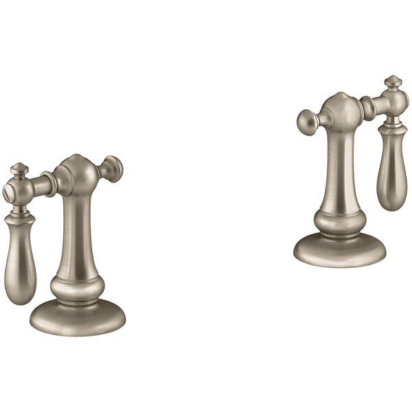 Artifacts Bathroom Sink Swing Lever Handles by Kohler