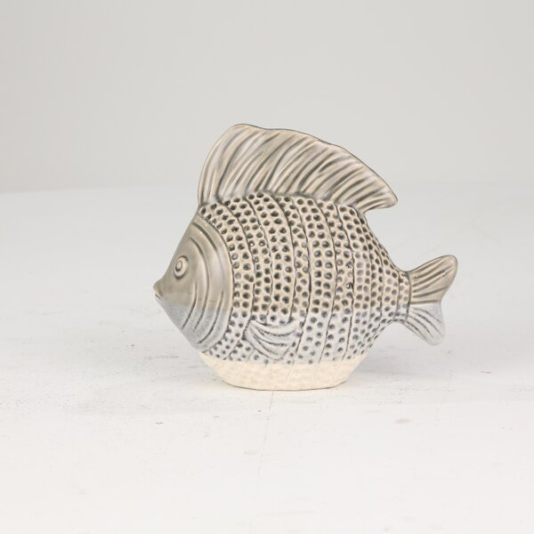 Glick Ceramic Fish by Highland Dunes