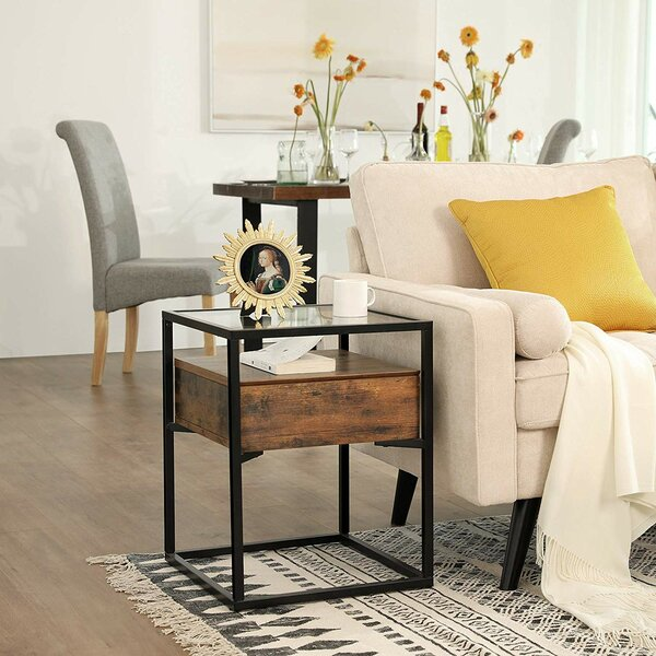Cioffi End Table By Union Rustic