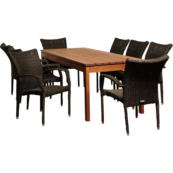 Brighton Eucalyptus 9 Piece Dining Set by Sol 72 Outdoor