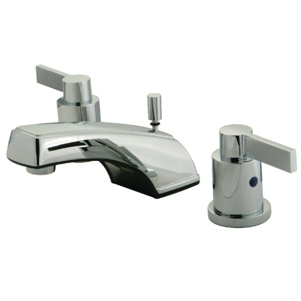 NuvoFusion Widespread Bathroom Sink Faucet With Retail Pop-up By Kingston Brass