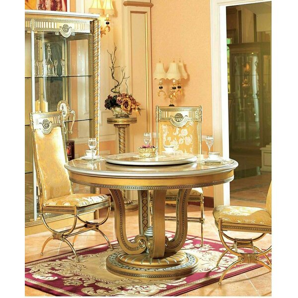 Peralez Round Dining Table by Astoria Grand