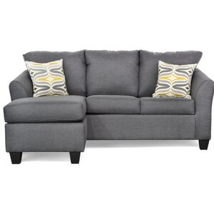 Randy Reversible Sectional with Ottoman