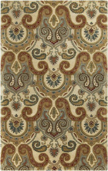 Blanche Tan Area Rug by Fleur De Lis Living