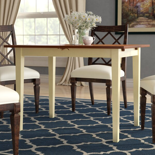Balfor Extendable Solid Wood Dining Table by Andover Mills