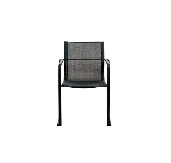 Muze Stacking Patio Dining Chair by OASIQ OASIQ