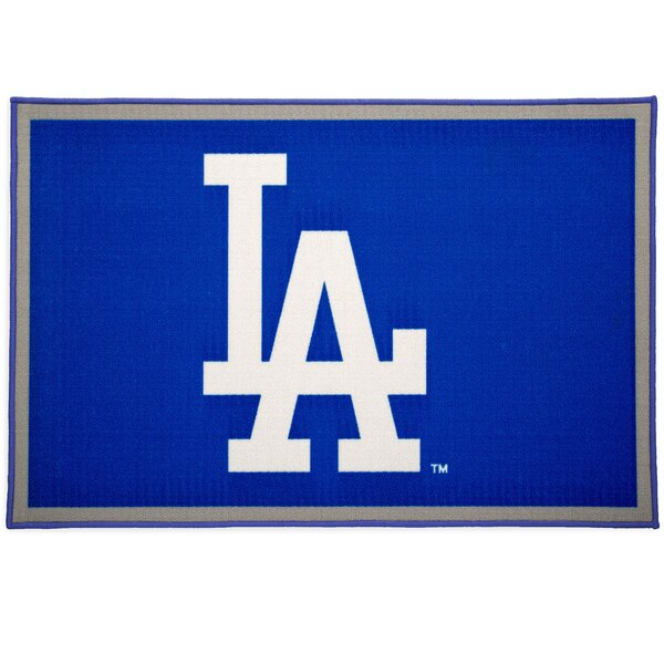 MLB Los Angeles Dodgers Blue/Gray Area Rug by Delta Children