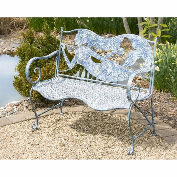 Mermaid Bench Garden/Park Bench by Longshore Tides