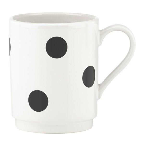All in Good Taste Deco Dot Mug by kate spade new york