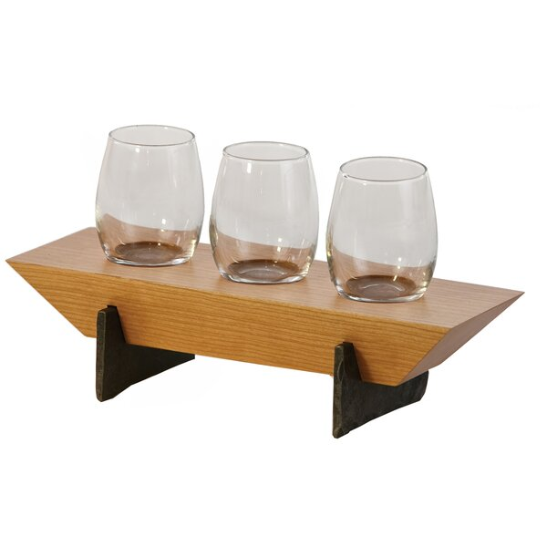 Lenhardt 4 Piece Tabletop Wine Glass Rack by Red Barrel Studio
