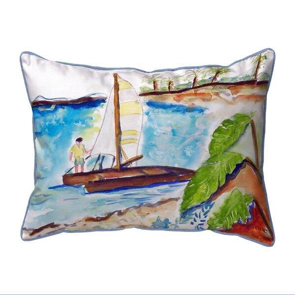 Catamaran Indoor/Outdoor Lumbar Pillow