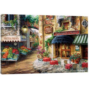 'Buon Appetito' Painting Print on Canvas by East Urban Home