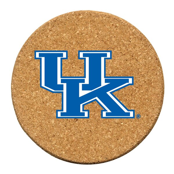 University of Kentucky Cork Collegiate Coaster Set (Set of 6) by Thirstystone