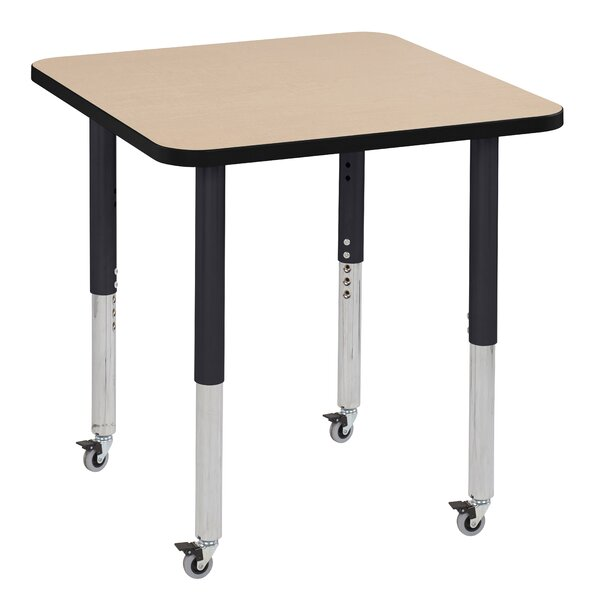 Maple Top Thermo-Fused Adjustable 30 Square Activity Table by ECR4kids