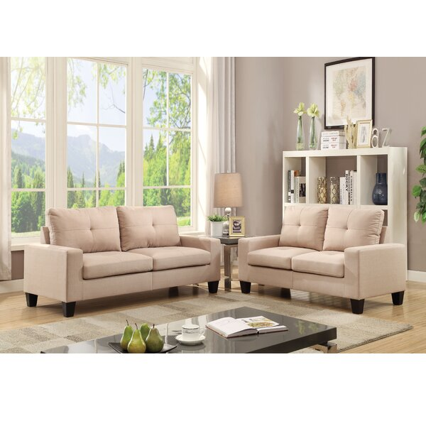 Offerman 2 Piece Living Room Set By Winston Porter by Winston Porter Discount