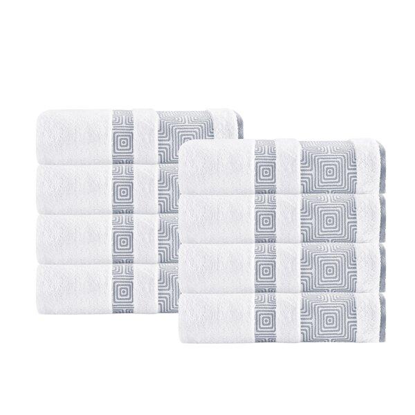 Greenwalt Turkish Cotton Hand Towel (Set of 8) by Trent Austin Design