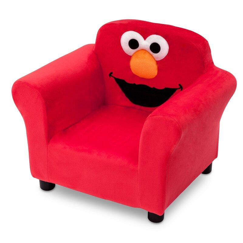 Sesame Street Elmo Kids Upholstered Club Chair