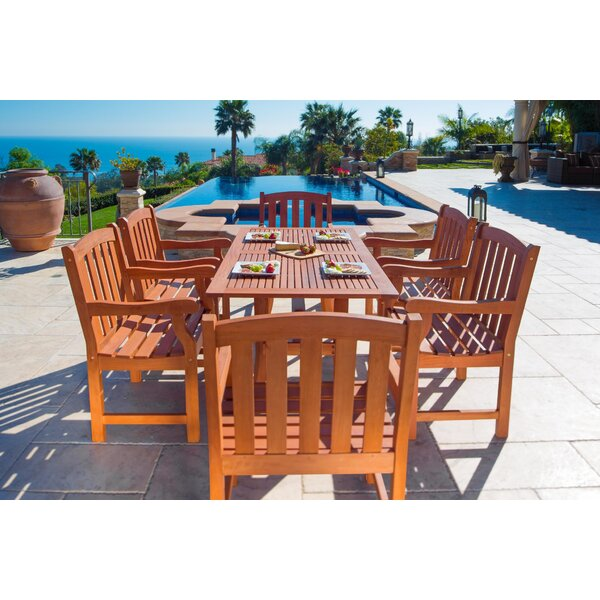 Cotten 7 Piece Dining Set by Darby Home Co