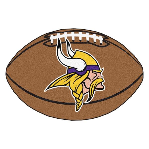 NFL - Minnesota Vikings Football Mat by FANMATS