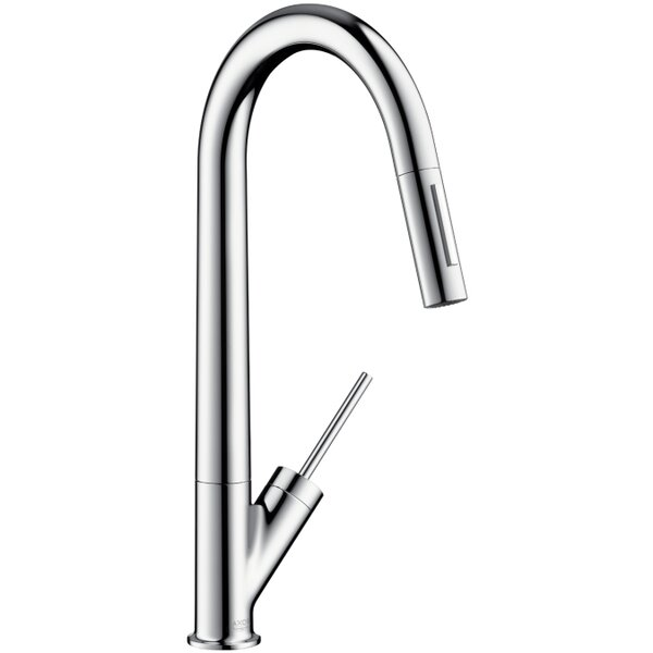 Axor Starck Pull Down Single Handle Kitchen Faucet by Axor