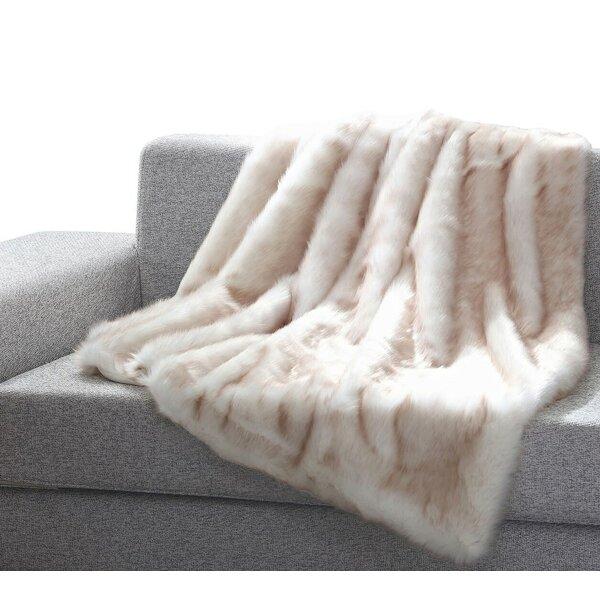 Tildenville Heavy Faux Fur Blanket by Union Rustic