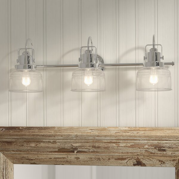 Gotha 3-Light Vanity Light by Beachcrest Home