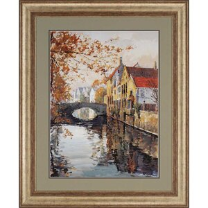 Brugge Reflections by Schaar Framed Painting Print by Paragon