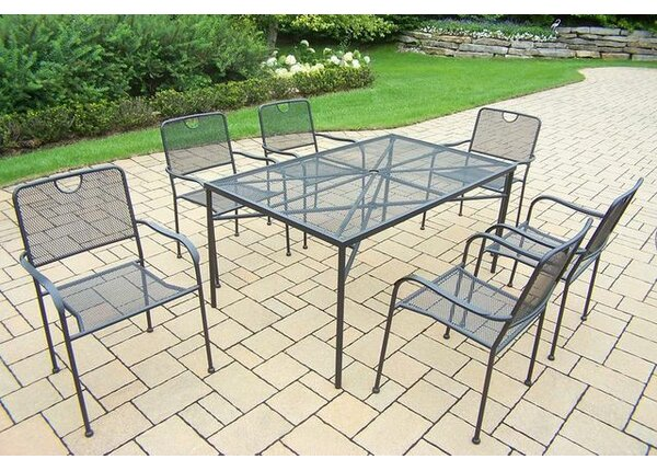 Charleston 7 Piece Dining Set by Oakland Living