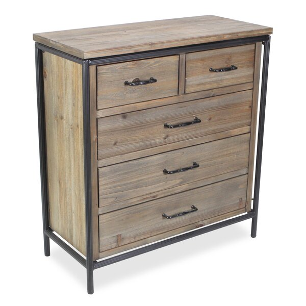 Holle 5 Drawer Accent Chest by Gracie Oaks Gracie Oaks