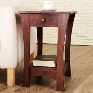 Walter 1 Drawer End Table by Hokku Designs