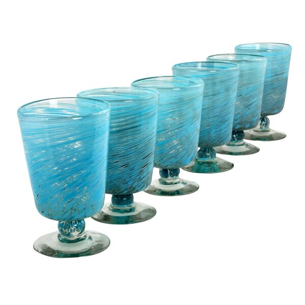 Hand Blown 10 Oz. Every Day Glasses (Set of 6) by Novica
