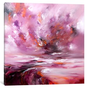 'Eternal' Painting Print on Wrapped Canvas by East Urban Home