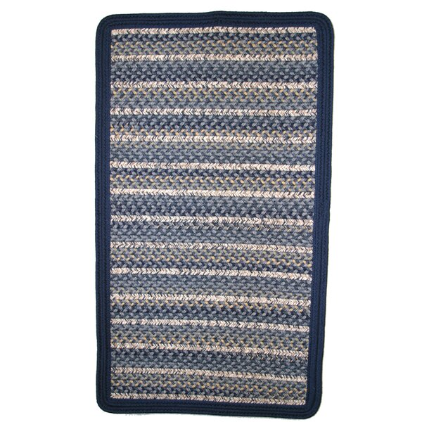 Beantown Charles River Blue Area Rug by Thorndike Mills